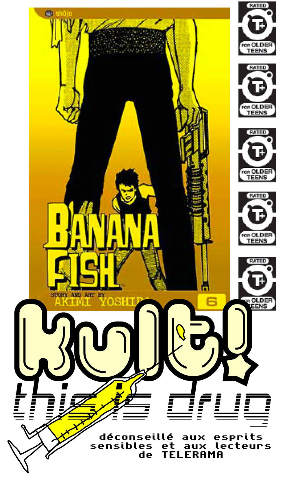 Banana Fish mon manga préféré au monde