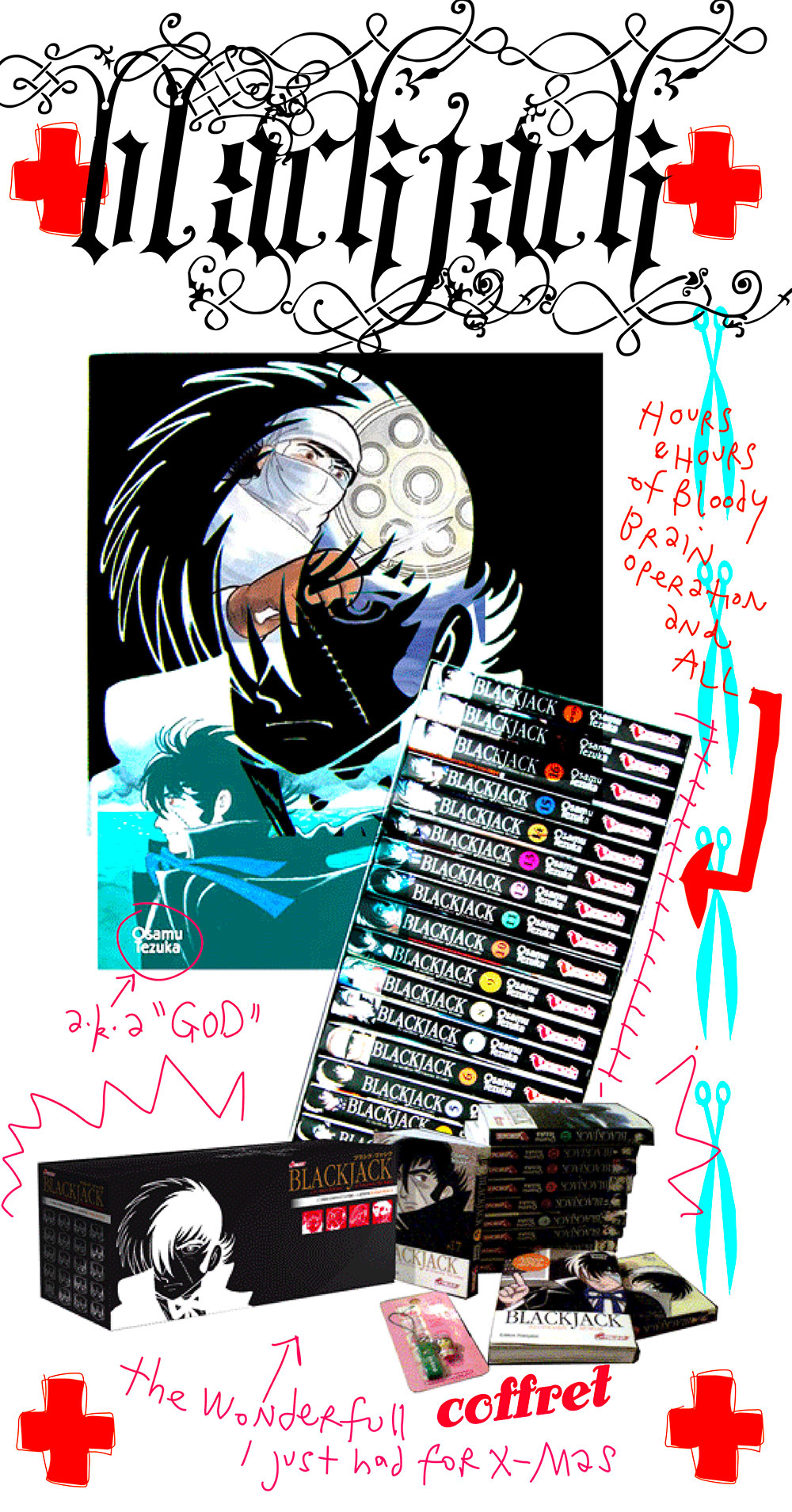Black Jack un merveilleux Manga de Tezuka
