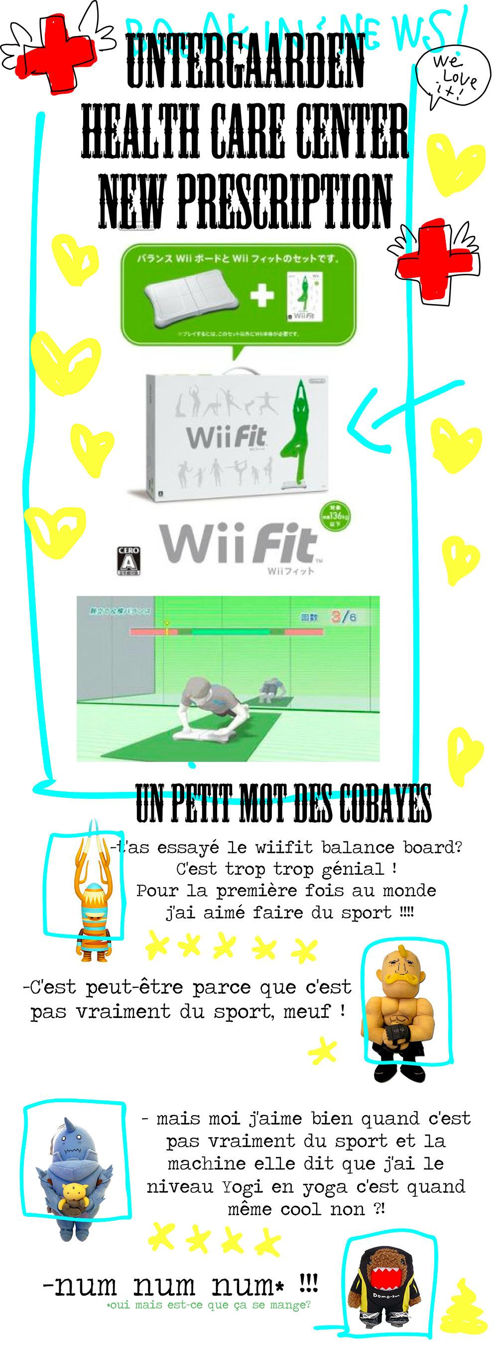 Le Wii Fit Balance Board C'est Génial