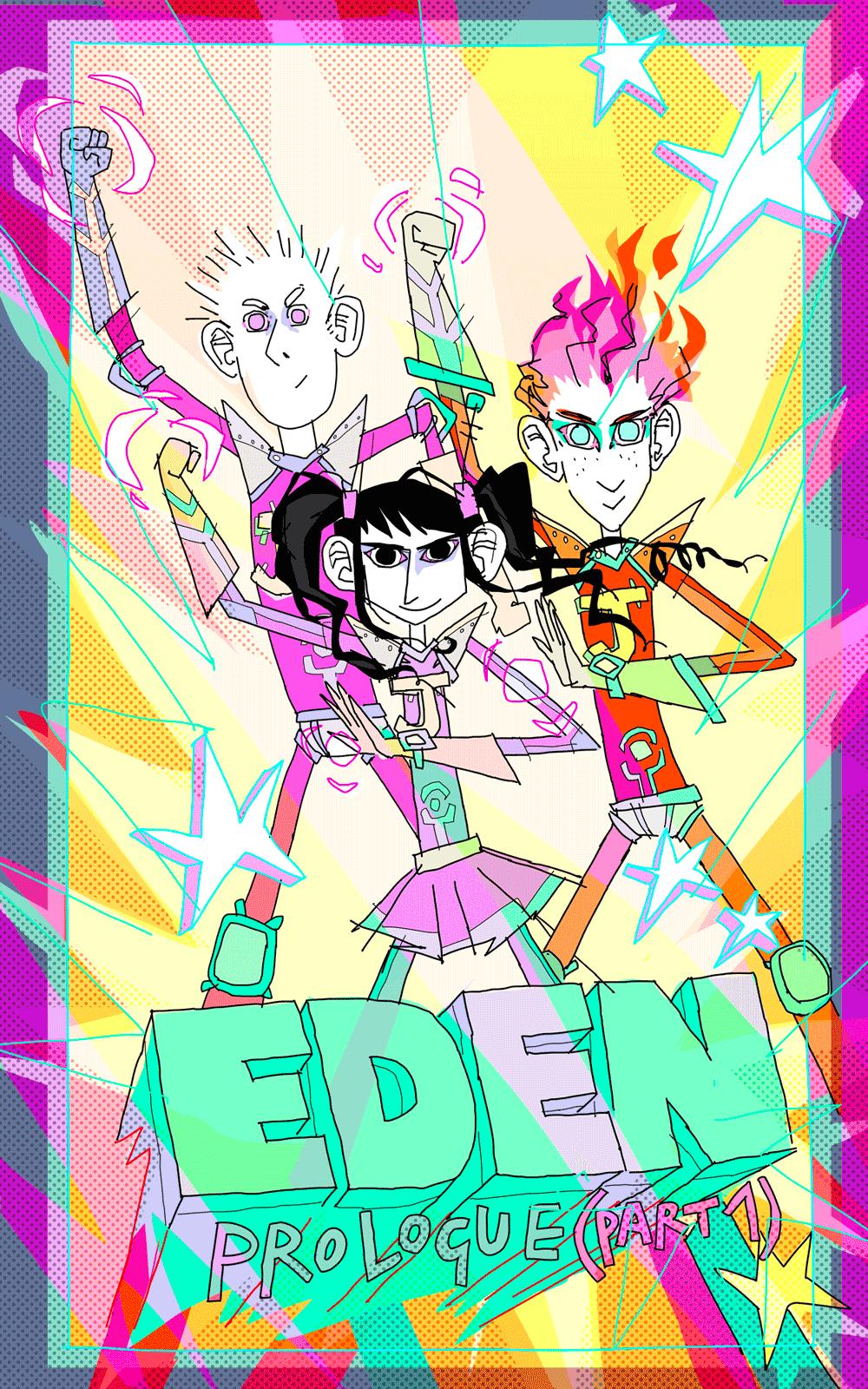 Juliette, Jérémie et Jérome, were kind of Power-Rangers
